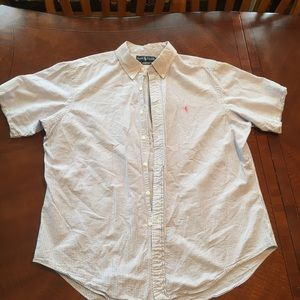 Men's polo by Ralph Lauren short sleeve button up